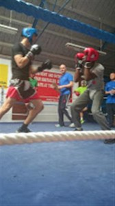 Boxing Students in action