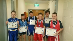 Students with boxing certs